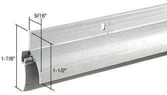 Shower Door Aluminum Drip With Vinyl Sweep