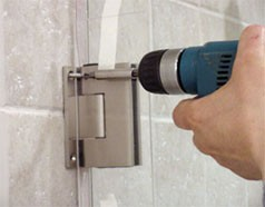 Installing Your New Frameless Shower Door