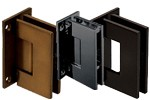 Geneva 037 Series Wall Mount Full Back Plate Hinges