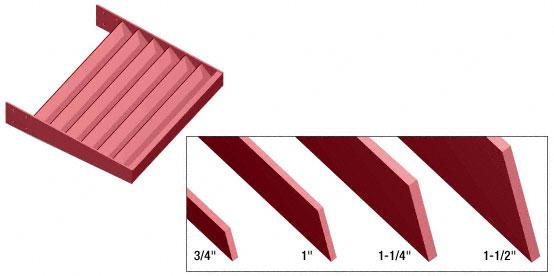 "CRL Newlar Painted 2"" x 1/4"" Flat Bar Blade Extrusion - 146"" - AXF2X14NL"