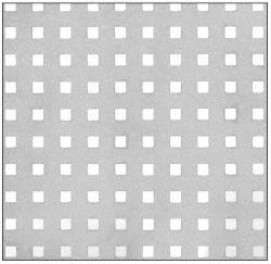 CRL Custom Perforated Infill Panel - Perforated Square - PN182SPC