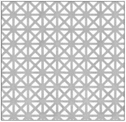 CRL Custom Perforated Infill Panel - Grecian - PN18GPC