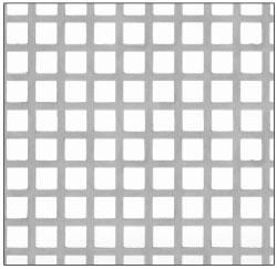 CRL Custom Perforated Infill Panel - Lattice - PN18LPC