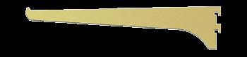 "CRL Gold Anodized 10"" Aluminum Bracket CRL 122GA10"