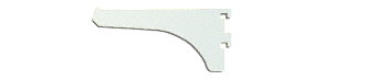 "CRL Brite Anodized 4"" Aluminum Bracket CRL 122BA4"