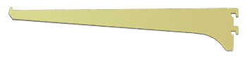 "CRL Brite Gold Anodized 12"" Aluminum Bracket CRL 122BGA12"