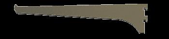 "CRL Duranodic Bronze 10"" Aluminum Bracket CRL 122DU10"