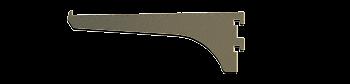 "CRL Duranodic Bronze 6"" Aluminum Bracket CRL 122DU6"