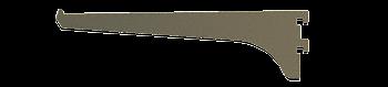 "CRL Duranodic Bronze 8"" Aluminum Bracket CRL 122DU8"