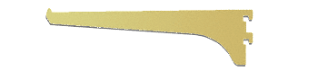 "CRL Gold Anodized 8"" Aluminum Bracket CRL 122GA8"