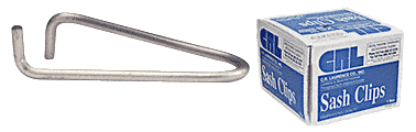 CRL Commercial Steel Sash Glazing Clips - 1000 CRL 1675