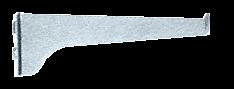 "CRL Anochrome 10"" KV Steel Bracket CRL 180A10"
