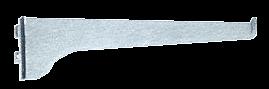 "CRL Anochrome 16"" KV Steel Bracket CRL 180A16"