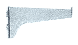 "CRL Anochrome 4"" KV Steel Bracket CRL 180A4"