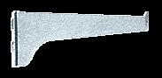 "CRL Anochrome 8"" KV Steel Bracket CRL 180A8"