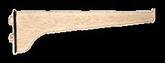 """CRL Brass 10"""" KV Steel Bracket CRL 180B10"""
