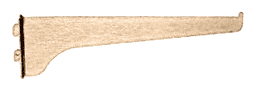 """CRL Brass 12"""" KV Steel Bracket CRL 180B12"""