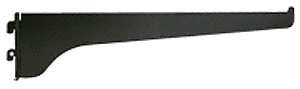 "CRL Ebony Black 10"" KV Steel Bracket CRL 180EB10"