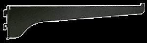 "CRL Ebony Black 8"" KV Steel Bracket CRL 180EB8"