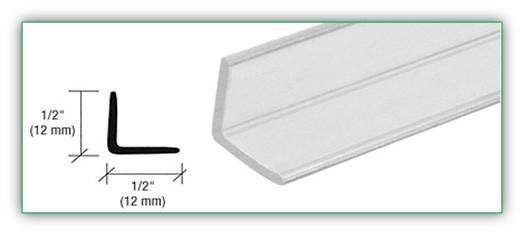 ANGLE JAMB FOR 1/4 INCH TO 1/2 INCH GLASS - SGAW POL2002-12