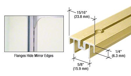 "CRL Gold Anodized 48"" Mirror Standard CRL 22GA48"