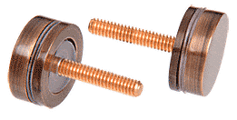 CRL Antique Bronze Replacement Washer/Stud Kit for Single-Sided Solid Pull Handle CRL 30SKABRZ