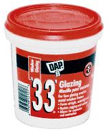 CRL White DAP® '33'® Glazing Compound - Pint CRL 33PTW