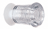CRL Clear Acrylic Finger Pull with Screw CRL 37P