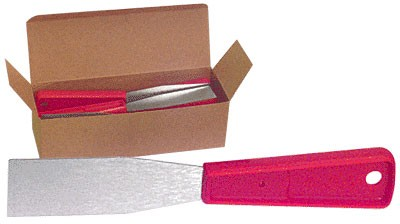 1-1/4 inch Stiff Putty Knives in a Countertop Box - CRL 4701