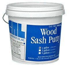 Gallon Wood Sash Putty - CRL 500GL