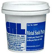 1/2 Pint Metal Sash Putty - CRL 528HP