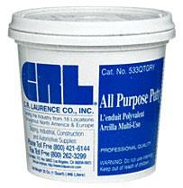 Gray Quart All Purpose Putty - CRL 533QTGRY