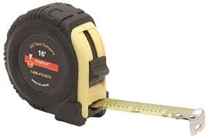 12 Foot EasyPoint Tape Rule 1/2 inch Wide - CRL 54141