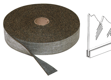 "CRL 1/32"" Tuff-Pak Cork and Rubber Glass Setting Tape CRL 690"