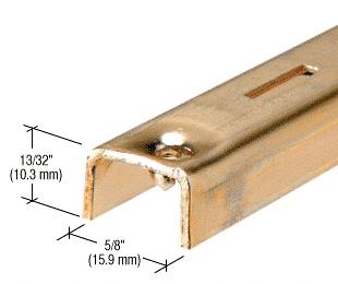 "CRL Brass 36"" KV Steel Standard CRL 80B36"