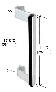CRL Aluminum Entrance Door Pull Handle CRL 9561