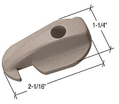 Stone Sliding Screen Door Latch for Andersen Doors - CRL A233