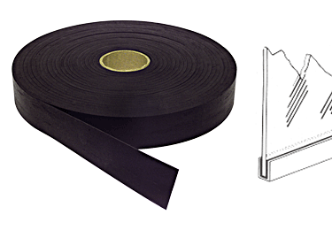 "CRL Black 3/32"" Sealstrip Glass Setting Tape CRL A4261"