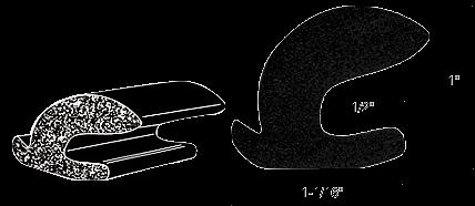 CRL Universal Trunk and Rear Deck Gutter Weatherstrip CRL AV4743