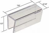 """7/8"""" X 5/16"""" Sliding Screen Door Bottom Guide for Keller Doors - CRL B630 Pack of 4"""