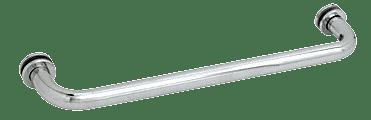 "CRL Polished Chrome 12"" BM Series Tubular Single-Sided Towel Bar CRL BM12CH"