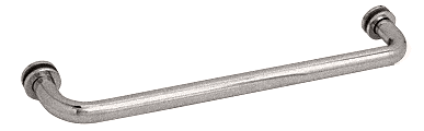 "CRL Satin Nickel 18"" BM Series Tubular Single-Sided Towel Bar CRL BM18SN"