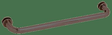 """CRL Oil Rubbed Bronze 20"""" BM Series Tubular Single-Sided Towel Bar CRL BM200RB"""