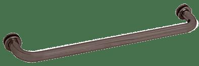 """CRL Oil Rubbed Bronze 22"""" BM Series Tubular Single-Sided Towel Bar CRL BM220RB"""