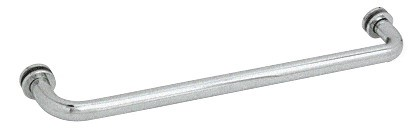 22 inch Satin Chrome (BM Series) Tubular Single-Sided Towel Bar - CRL BM22SC