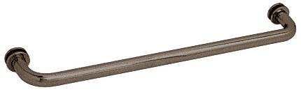 """CRL Oil Rubbed Bronze 26"""" BM Series Tubular Single-Sided Towel Bar CRL BM260RB"""