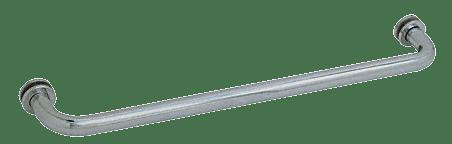 "CRL Brushed Nickel 26"" BM Series Tubular Single-Sided Towel Bar CRL BM26BN"