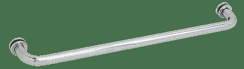 "CRL Satin Chrome 30"" BM Series Tubular Single-Sided Towel Bar CRL BM30SC"