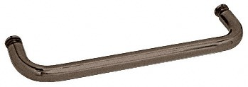12 inch Oil Rubbed Bronze (BM Series) Single-Sided Towel Bar without Metal Washers - CRL BMNW12ORB
