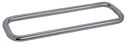 "CRL Brushed Nickel 18"" BM Series Back-to-Back Towel Bar Without Metal Washers CRL BMNW18X18BN"
